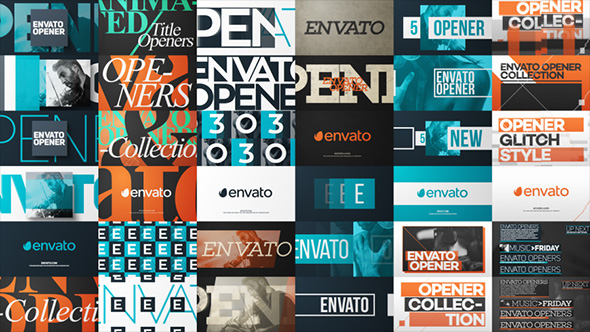 Videohive Typo Opener Pack 12108167 - Free After Effects Template