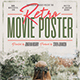 Retro Movie Poster - GraphicRiver Item for Sale