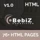 BebiZ - Business and Consulting Responsive HTML5 Template - ThemeForest Item for Sale