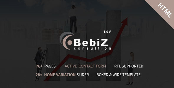 BebiZ - Business and Consulting Responsive HTML5 Template