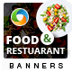 Food and Restaurant Banners