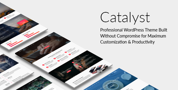 Catalyst - Responsive Multi-Purpose WordPress Theme - Creative WordPress