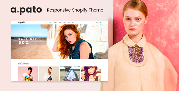 Pato - Responsive Shopify Theme - Fashion Shopify