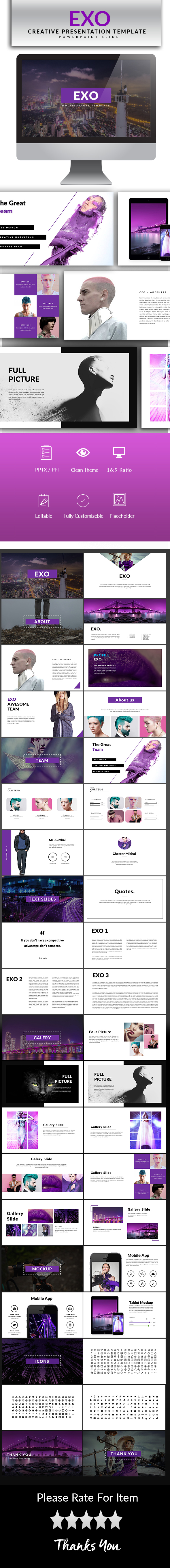 GraphicRiver Exo Powerpoint Template 20400133
