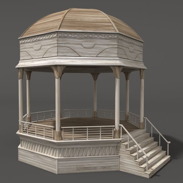 Gazebo - 3DOcean Item for Sale