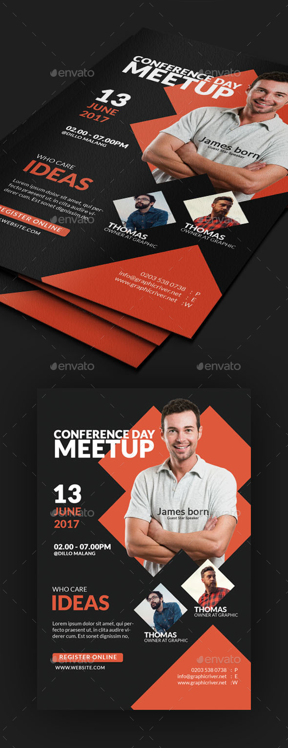 Summit Business Conference Flyer - Events Flyers