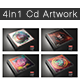 Cd Artwork Template Bundle - GraphicRiver Item for Sale