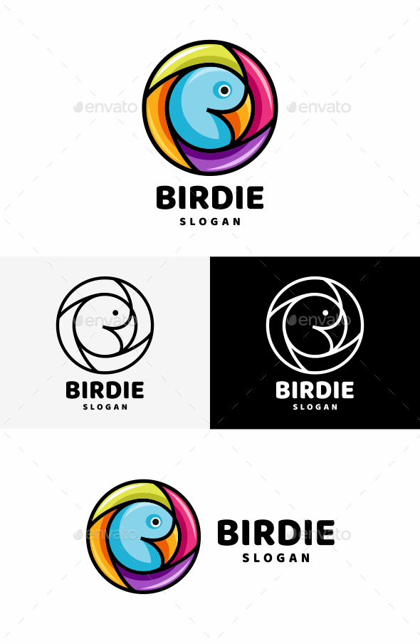 GraphicRiver Bird Logo 20400768