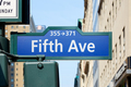 Fifth Avenue street in a sunny day in New York city - PhotoDune Item for Sale