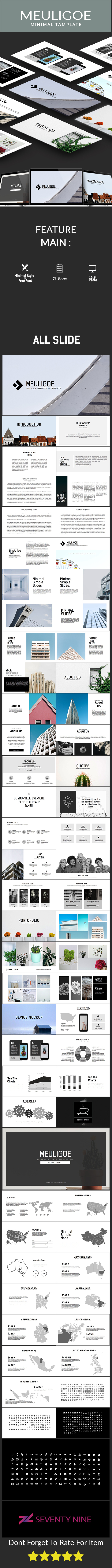 Meuligoe Minimal Presentation Template - PowerPoint Templates Presentation Templates