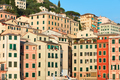 Camogli typical village with colorful houses in Italy, Liguria - PhotoDune Item for Sale