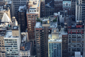 New York City Manhattan skyline aerial view with skyscrapers roof tops - PhotoDune Item for Sale
