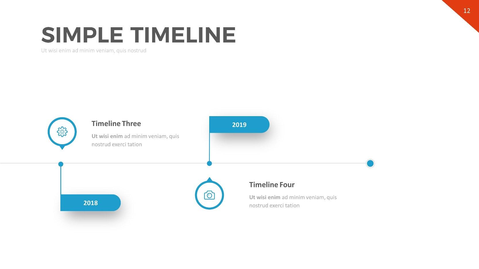 timeline powerpoint