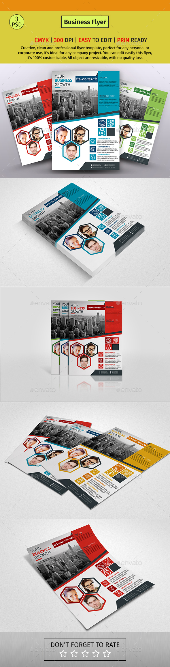 A4 Corporate Business Flyer #65 - Corporate Flyers