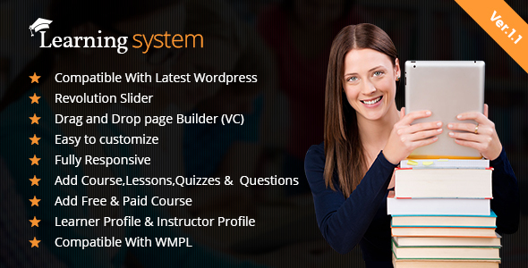 LMS WordPress Theme| Education | Elearning | Online Course | LMS Theme - Education WordPress