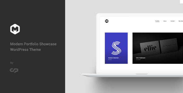 Maestro - Modern Portfolio Showcase WordPress Theme