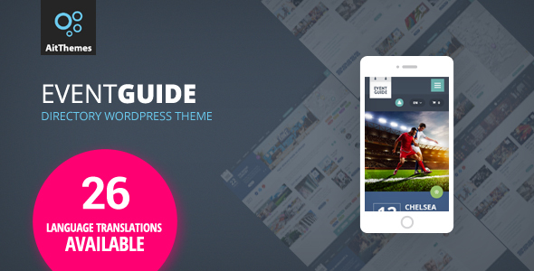Event Guide - Ultimate Directory Listing Theme for Events, Concerts, Gigs, Museums or Galleries - Events Entertainment