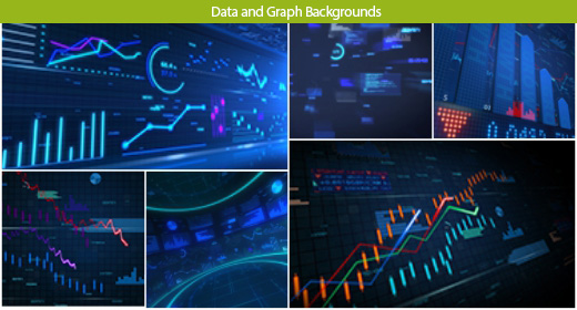 Data and Graph Backgrounds