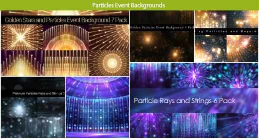 Particles Event Background