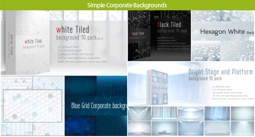 Simple Corporate Backgrounds