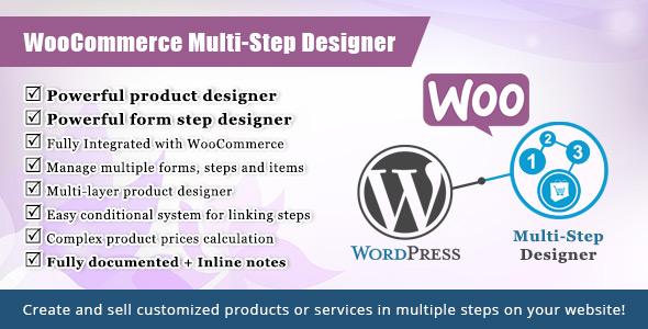 WooCommerce Multistep Form & Product Designer - CodeCanyon Item for Sale