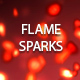 Flame Sparks - VideoHive Item for Sale