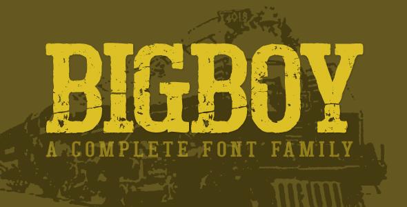 Bigboy - Serif Fonts