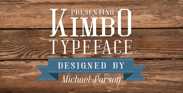 Kimbo - Serif Fonts
