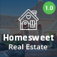 Homesweet - Real Estate PSD Template