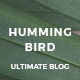 Hummingbird - The Ultimate Blog Theme