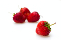 Berries of a strawberry on a white background - PhotoDune Item for Sale