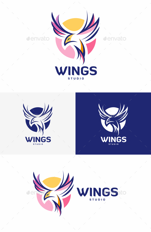 GraphicRiver Wings Logo 20402254