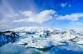 Icebergs in  Jokulsarlon glacier lagoon, Iceland - PhotoDune Item for Sale
