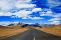 Road to the mountain, Leh, Ladakh, India - PhotoDune Item for Sale