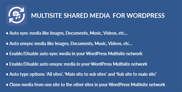 Multisite Shared Media for WordPress - CodeCanyon Item for Sale