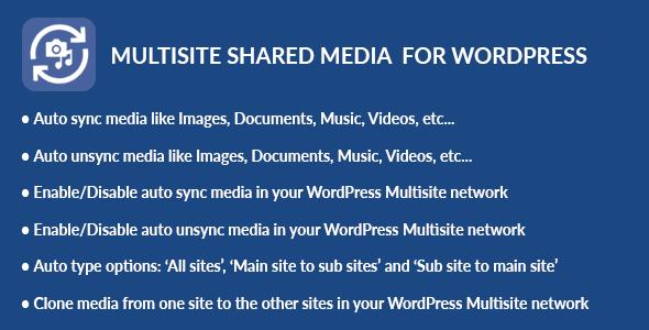 Multisite Shared Media for WordPress