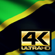 Tanzania Flag 4K - VideoHive Item for Sale
