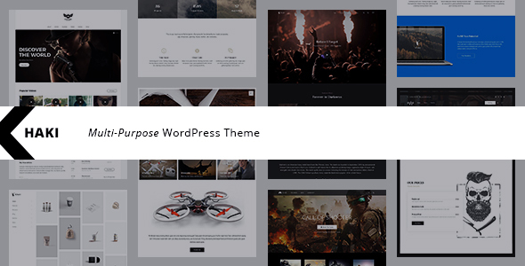 Khaki | Responsive Multi-Purpose WordPress Theme
