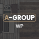 A-Group -  Business Company WordPress theme - ThemeForest Item for Sale