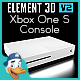 Xbox One S Console for Element 3D - 3DOcean Item for Sale