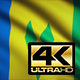 Saint Vincent and the Grenadines Flag 4K - VideoHive Item for Sale
