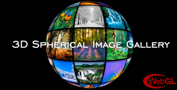 3D Spherical Image Gallery | WordPress Plugin - CodeCanyon Item for Sale