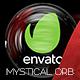 Mystical Magic Glass Sphere Logo