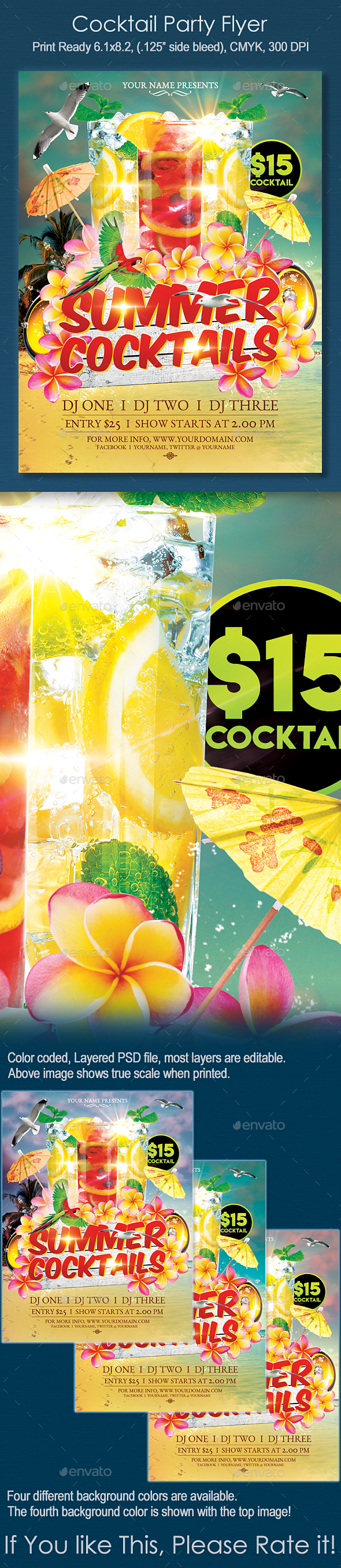 Summer Cocktail Party - Clubs & Parties Events