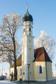 Church of Strobenried on a sunny winter day - PhotoDune Item for Sale