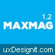 Maxmag - Magazine and Blogging WordPress Theme