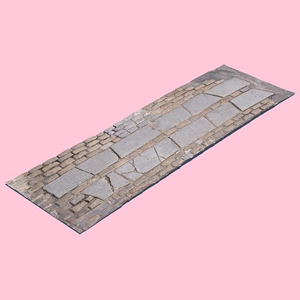 Brick Crosswalk - 3DOcean Item for Sale