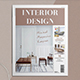 Interior Design Magazine - GraphicRiver Item for Sale