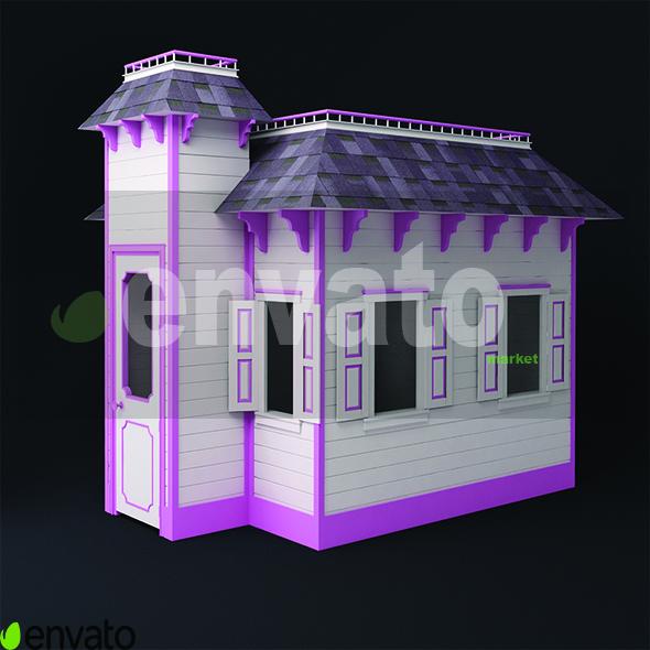 kid house - 3DOcean Item for Sale