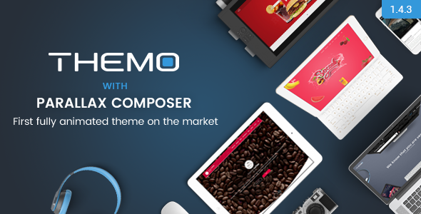 Themo - Creative Parallax Multi-purpose WordPress Theme - Creative WordPress
